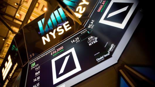 Deutsche Bank, NYSE