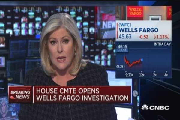 House committee opens Wells Fargo investigation