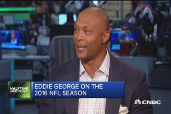 Eddie George: Twitter broadcast of NFL was great
