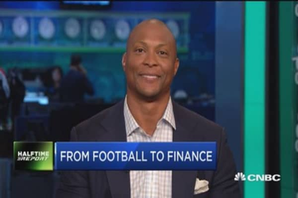 NFL's Eddie George: From football to finance