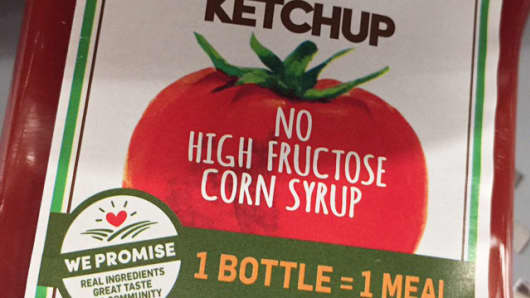 Some ketchup makers eliminated high fructose corn syrup.