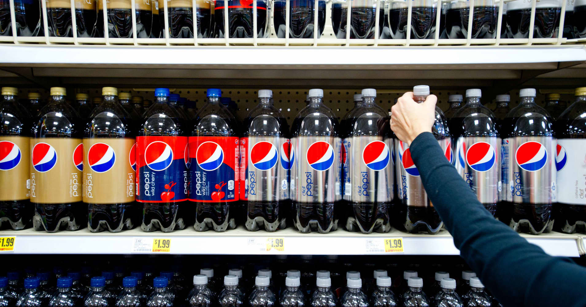 PepsiCo shares rise after earnings beat