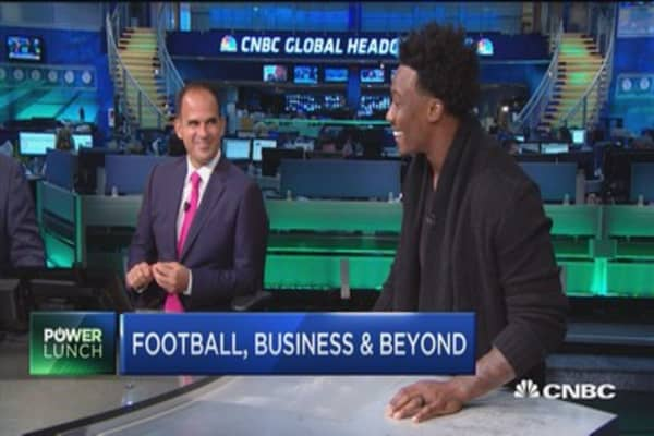 Jets receiver Brandon Marshall's top business lessons