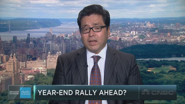 Tom Lee: 90% chance of a year end rally