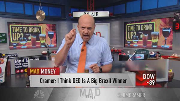 Cramer: My play on British booze with 3 ways to win