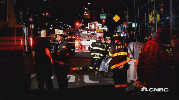 Homemade bomb explodes in NYC
