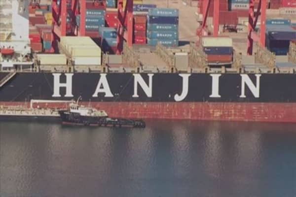 Judge orders Hanjin vessels to be returned