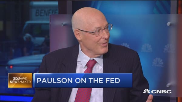 Hank Paulson: Economic policies not workings as they should