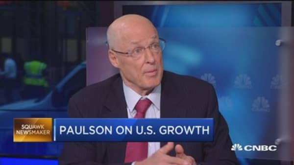 Protectionism deplorable in the US: Paulson