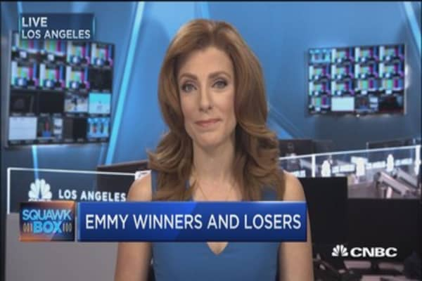 Emmy winners and losers