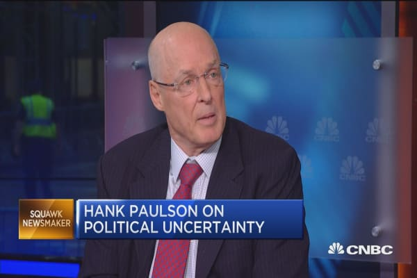 Hank Paulson on Hillary Clinton