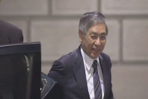 Note the timing of Bank of Japan meeting