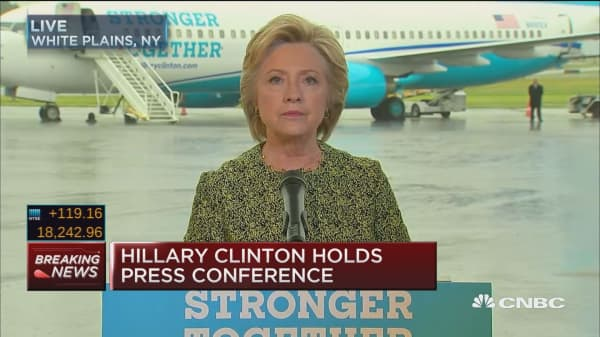 Clinton: This threat is real but so is our resolve