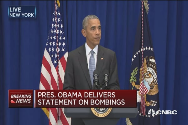 Pres Obama: Bombing investigation is moving rapidly