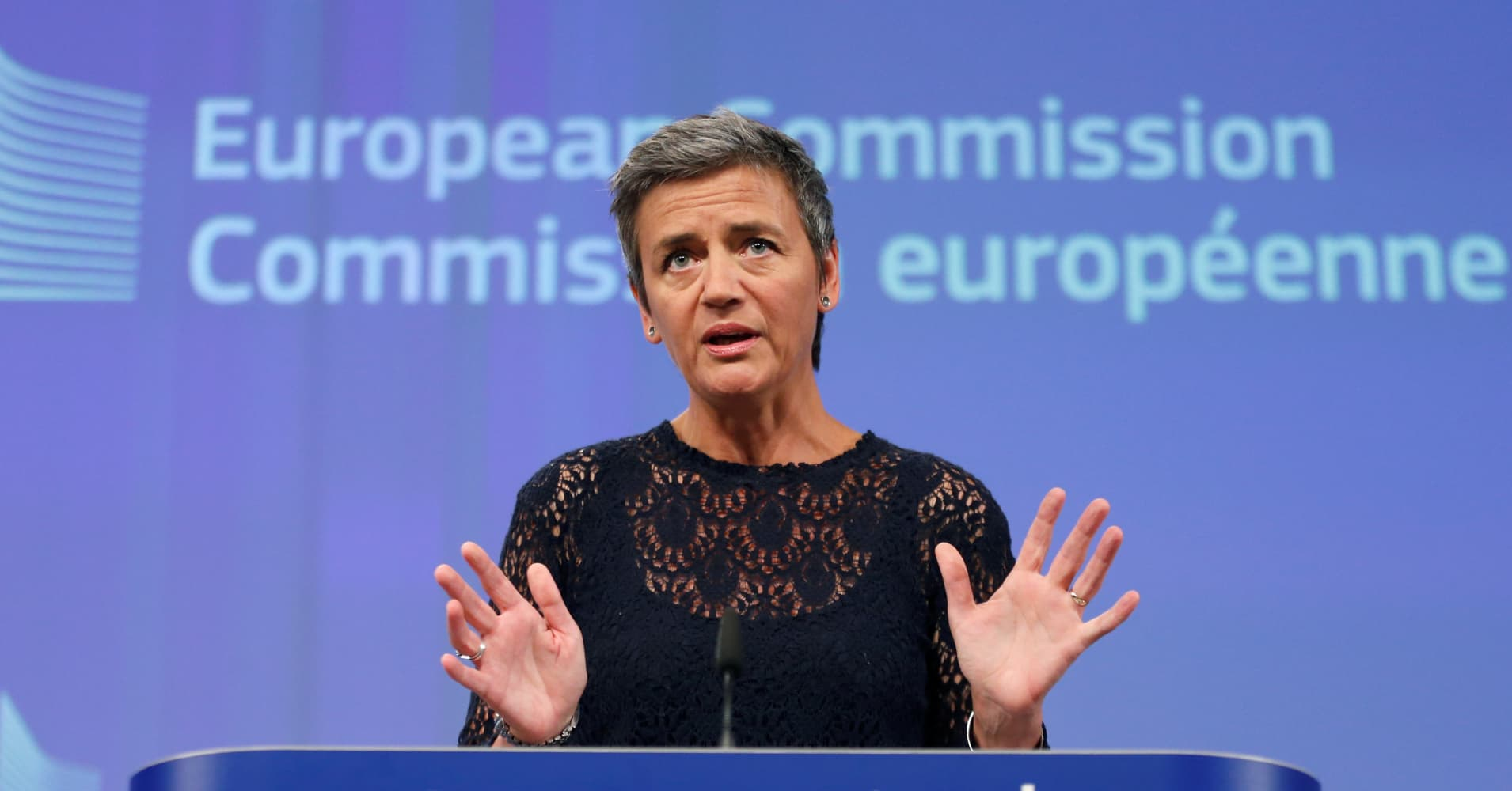 Google still a 'wonderful' company, says EU's top antitrust enforcer after $2.7 billion fine
