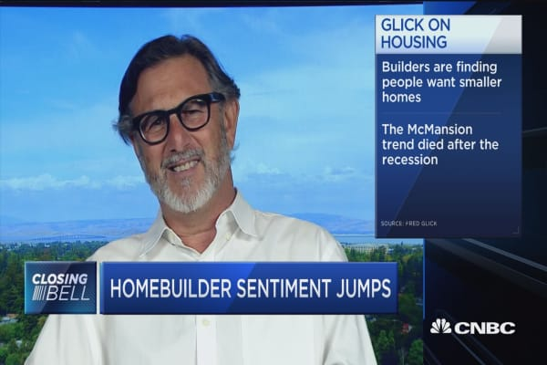 Homebuilder sentiment surge