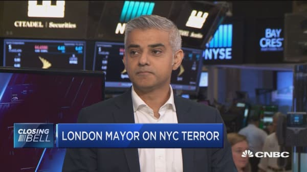 London mayor on NYC terror: Prevention is crucial