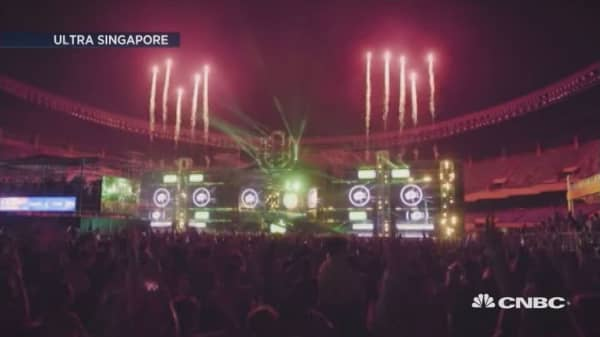 Singapore's EDM scene gains ground