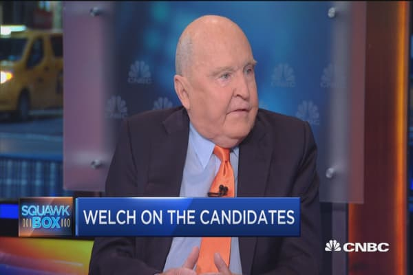 Why I'm voting Republican: Jack Welch