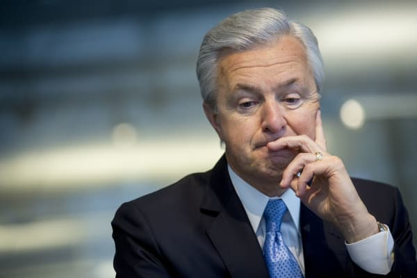 John Stumpf, former chairman, president and chief executive officer of Wells Fargo & Co.