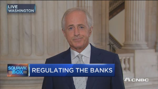 Sen. Bob Corker on Wells Fargo
