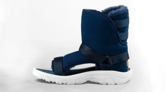 1e498649ea2 Ugly shoes are en vogue, as Ugg mashup hits stores, Crocs storm the ...