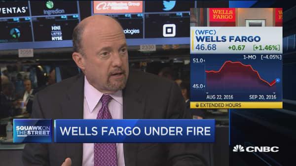 Cramer on Wells Fargo CEO