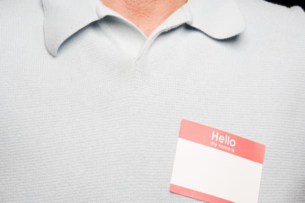 Here's where you should put your nametag and 14 other secrets for networking