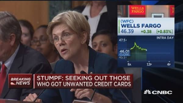 Sen. Warren grills Stumpf on WFC cross-selling