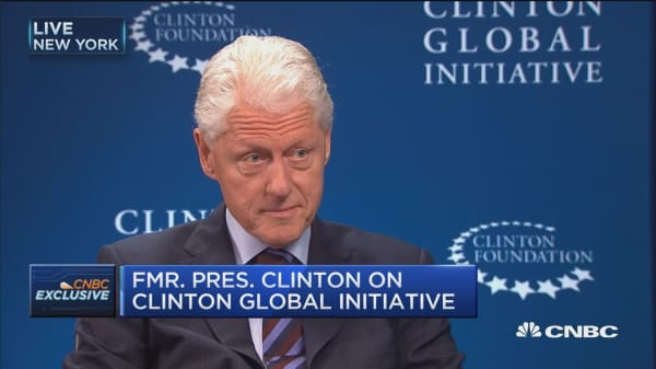 Bill Clinton: CGI couldn't continue if Hillary wins