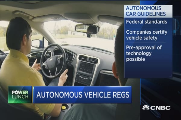 New rules of the road for autonomous vehicles