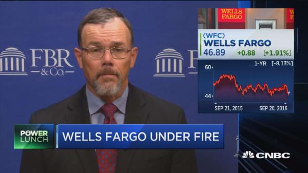 Wells Fargo under fire