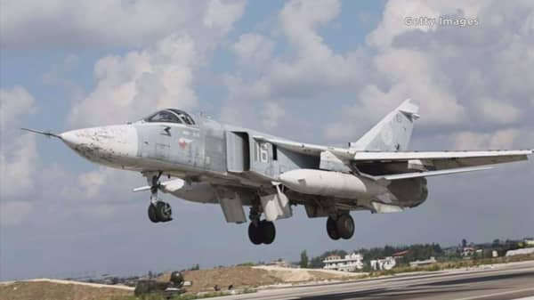 US believes Russian aircraft bombed Syrian convoy
