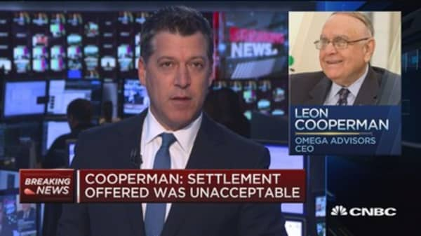 Cooperman: Charges are without merit
