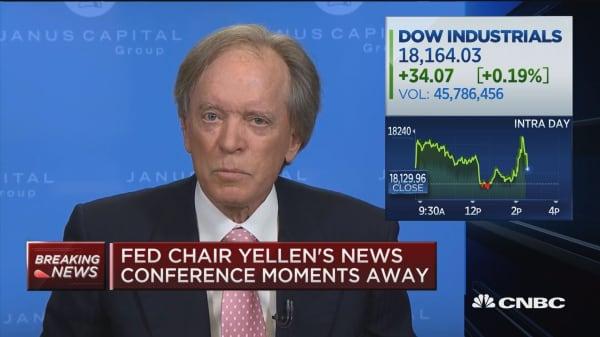 Gross: I'm 'verklempt' over Fed announcement