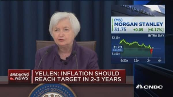 Yellen: 1.8% GDP growth projected this year