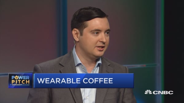 Start-up: Don't drink your coffee — wear it!