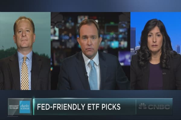 Best ETF picks for a low-rate Fed