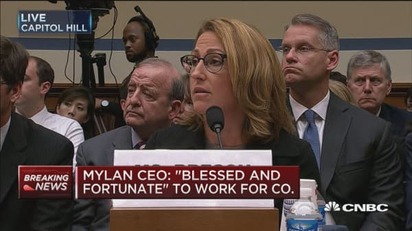 Mylan CEO: Raised price to invest more access