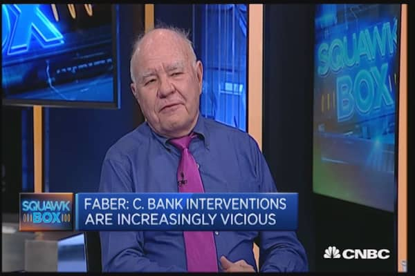 Central bankers are like alchemists, according to Marc Faber