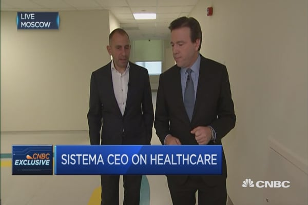 High quality tech start ups in Russia: Sistema CEO