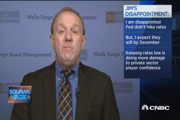 Markets can handle hike if earnings return: James Paulsen