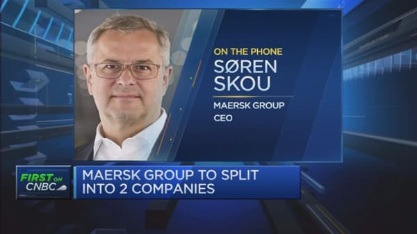 Company unable to grow its top line: Maersk CEO / Can't wait for oil prices to grow