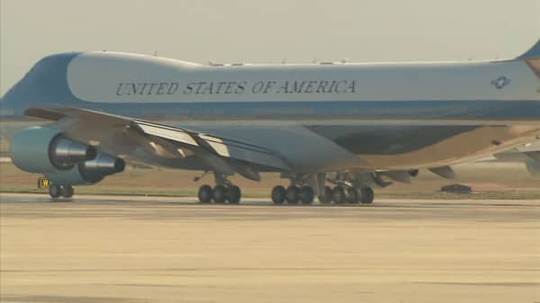 Clinton campaign releases cost of Air Force One ride