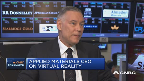 Applied Materials CEO on VR