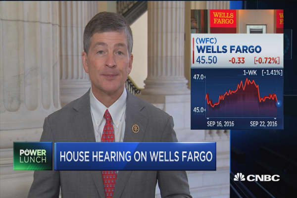 House hearing on Wells Fargo