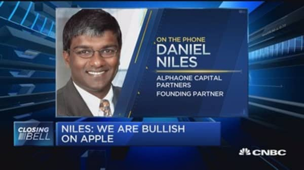 Niles: Apple our longest and largest long position