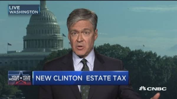 New Clinton tax plan targets super rich