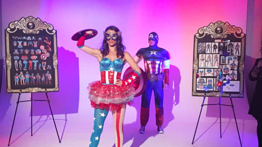 Costumes from Party City, Halloween 2016