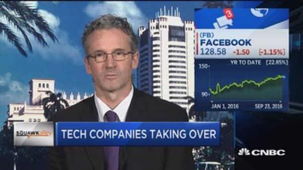 Tech companies taking over